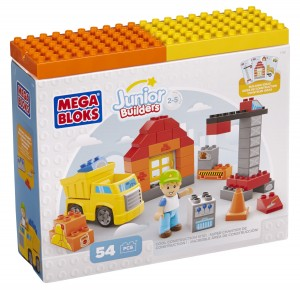 Megablocks Junior Constructii - Constructii Tematice Mini Blocuri