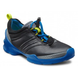 Pantofi sport baieti ECCO Biom Train (negri cu talpa albastra) 1