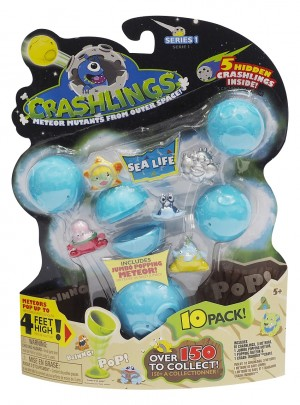 Crashlings - Set 10 Figurine