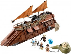 Lego Star Wars - Jabba Sail Barge V29