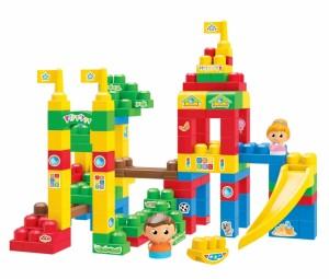 Mega Bloks - Junior Constructii - Geanta Constructii Deluxe