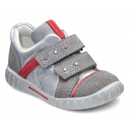 Pantofi copii piele ECCO Mimic (metalic) 1