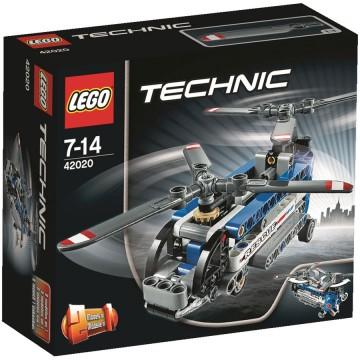 Promotie LEGO Tehnic Elicopter cu rotor dublu