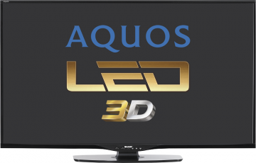 LED TV Smart 3D SHARP 60LE652E 1