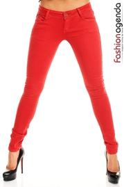 Pantaloni Rosii Cherry Bomb