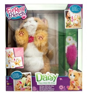 Promotie pisica jucausa Daisy Hasbro Furreal friends plays with me Kitty