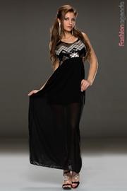Rochie Lunga Griselda Gold