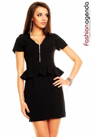 Rochita Neagra Peplum Ashley 1