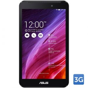 Promotie Tableta ASUS Fonepad 7 (FE170CG), LED 7 inch, Intel Atom Z2520 1.2 GHz, 1GB RAM, 8GB Flash, 3G, DUAL SIM, Android 4.3, Black