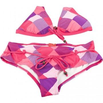 Costum de baie femei Puma Jam Check Halterneck Bikini 81942402 1
