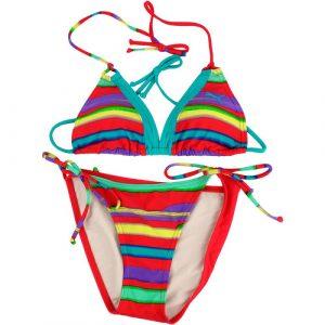 Costum de baie femei Puma Stripy Triangle Bikini 51103401