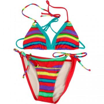 Costum de baie femei Puma Stripy Triangle Bikini 51103401 1