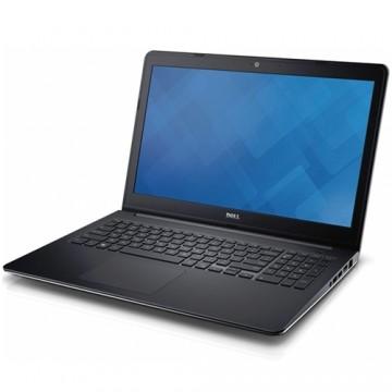 Laptop Dell Inspiron 15 (5547), Intel Core i5-4210U, 1TB HDD, 8GB DDR3, AMD Radeon R7 M265 2GB, Ubuntu, Argintiu 1
