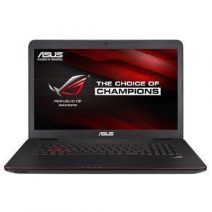 Laptop ASUS G771JM-T7044D, Intel Core i7-4710HQ, 1TB HDD+256GB SSD, 12GB DDR3L, nVidia GeForce GTX 860M 4GB, FreeDOS