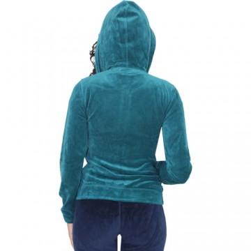 Hanorac femei Converse Basic Full zip Hoody 122W08 1