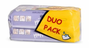 Happy - Servetele Umede Lotiune Duo Pack 64 X 2
