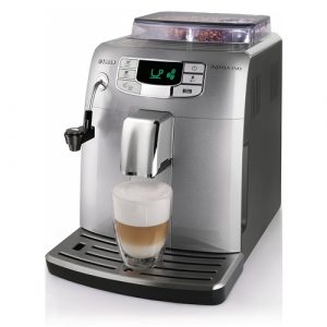 Espressor cafea Philips Intelia Evo HD8752/99, Putere 1850W, Rezervor 1.5L, Capacitate boabe 300g, Argintiu