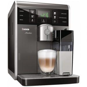 Espressor cafea Philips Saeco Moltio HD8769/19, Putere 1850W, Rezervor 1.9 litri, Capacitate boabe 290 grame, Argintiu
