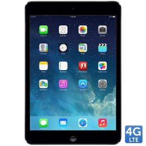 Promotie Tableta Apple iPad Mini Black 4G/LTE 32GB, Chip A7, Retina display 7.9 inch, iOS 7