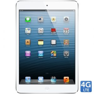 Promotie Tableta Apple iPad Mini White 4G 16GB, 7.9 inch, Dual Core A5, iOS 6, [24M]
