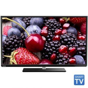 Tv Led Toshiba 48L3433DG, 121 cm (48 inch), Full HD, AMR+ 200, Tuner DVB-T/C, Slot CI+, Wi-Fi, Smart TV