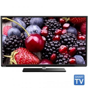 Tv Led Toshiba 48L3433DG, 121 cm (48 inch), Full HD, AMR+ 200, Tuner DVB-T/C, Slot CI+, Wi-Fi, Smart TV 1