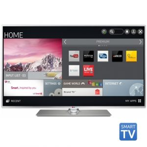 Tv Led LG 55LB5800, 139 cm (55 inch), Full HD, IPS, MCI 100, Triple XD Engine, Wi-Fi, Smart TV, Rama metalica