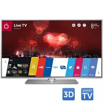 Tv Led LG 3D Cinema 42LB650V, 106 cm (42 inch), Full HD, IPS, MCI 500, Triple XD Engine, Wi-Fi, webOS, Smart TV, Rama metalica 1
