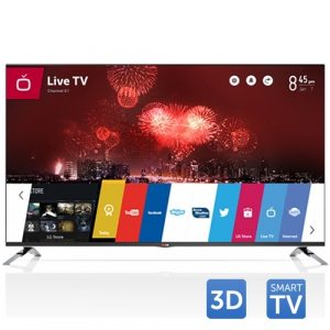 Tv Led LG 3D Cinema 55LB671V, 139 cm (55 inch), Full HD, IPS, MCI 700, Audio 2.1 24W, Wi-Fi, webOS, Smart TV, Rama metalica