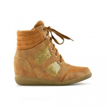 Reducere la Pantofi Sport Giudy Camel 1