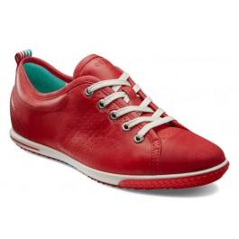 Reducere la Pantofi rosii confortabili piele naturala ECCO Spin