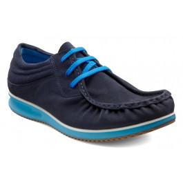 Pantofi casual barbati piele intoarsa ECCO Mind (bleumarin) 1