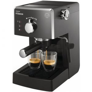Espressor cafea Philips Saeco Poemia HD8423/19, Putere 1050W, Presiune 15 bari, Capacitate 1.25 L, Negru