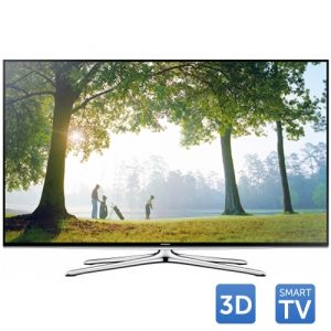 Tv Led SAMSUNG 3D UE55H6200, 139 cm (55 inch), Full HD, Clear Motion Rate 200, DTS, Quad Core, Wi-Fi, Smart TV, Negru