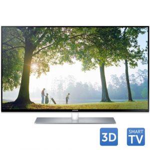 Tv Led SAMSUNG 3D UE40H6670, 101 cm (40 inch), Full HD, Clear Motion Rate 600, DTS, Quad Core, Wi-Fi, Smart TV, Negru