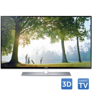 Tv Led SAMSUNG 3D UE40H6670, 101 cm (40 inch), Full HD, Clear Motion Rate 600, DTS, Quad Core, Wi-Fi, Smart TV, Negru 1