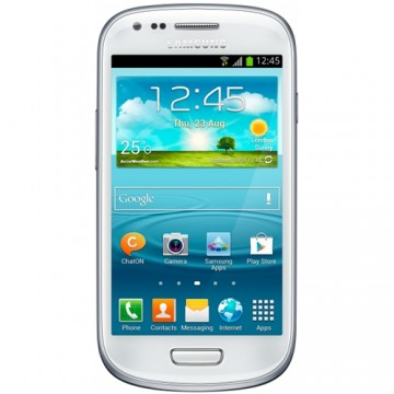 Promotie Telefon mobil SAMSUNG Smartphone Galaxy S3 Mini VE i8200, Dual-Core 1.2 GHz, 1GB RAM, 8GB ROM, sAMOLED 4.0 inch (480×800), Android 4