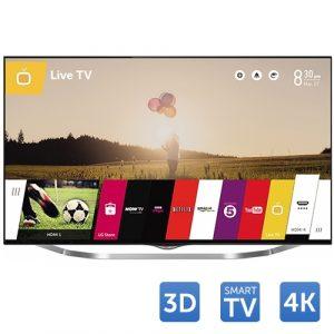 Tv Led LG 3D Cinema 49UB850V, 124 cm (49 inch), Ultra HD 4k, IPS, UCI 1000, Triple XD Engine, Wi-Fi, webOS, SmartTV, Rama metalica
