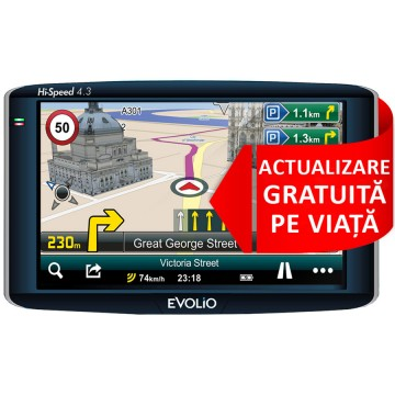 Promotie Sistem de navigatie Evolio  Harta Full Europe