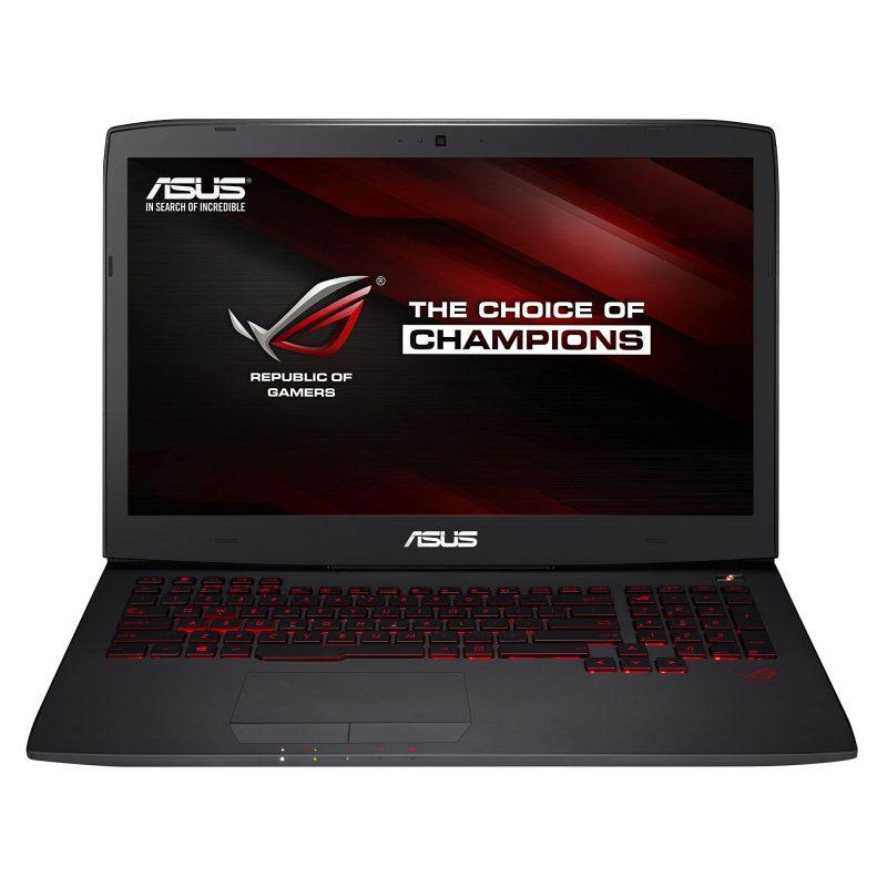 Laptop Asus G751JT-T7210D, Intel Core i7, Memorie 16GB, HDD 1 TB, SSD 128GB, NVIDIA GeForce, Free DO