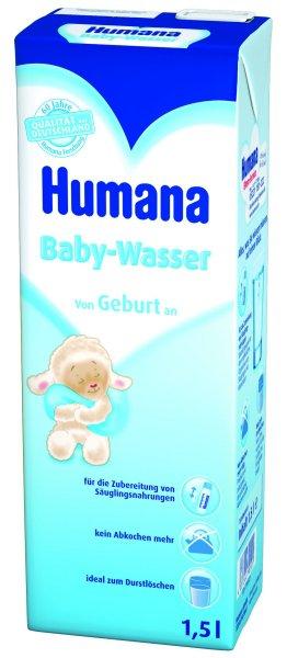 Apa pentru sugari Humana, 1.5l