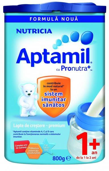 Aptamil 1+ Lapte de crestere premium 800g 1
