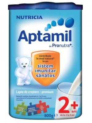 Aptamil 2+ Lapte de crestere premium 800g