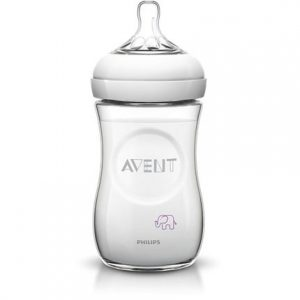 Biberon Avent Natural Elefanti 260ml SCF628/17