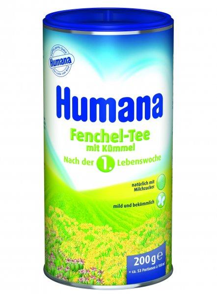 Ceai de fenicul Humana, 200g