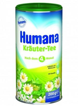 Ceai de plante Humana, 4+ luni, 200g