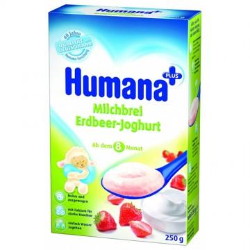 Cereale Humana cu capsuni si iaurt, 250g 1