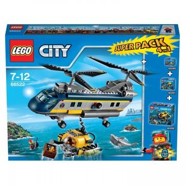 LEGO City – Deep Sea Explorers Super Pack (66522) 1
