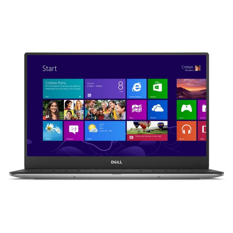 Laptop Dell XPS 13, Intel Core i5, Memorie 8GB, SSD 256GB, Intel HD Graphics, Windows 8