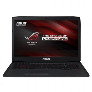 Laptop Asus G751JL-T7009, Intel Core i7, Memorie 16GB, HDD 1 TB, SSD 128GB, NVIDIA GeForce, Free DOS